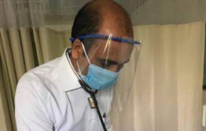 face shield for doctors